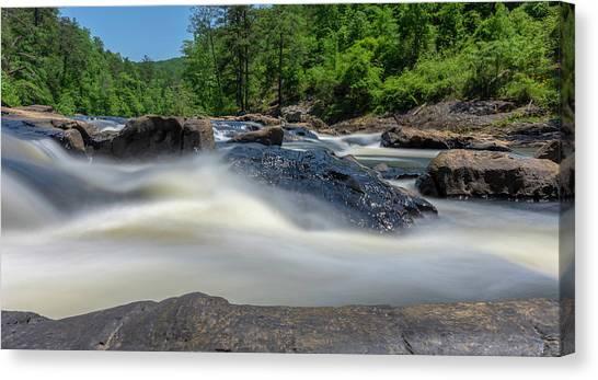 Sweetwater Creek Long Exposure Canvas Print