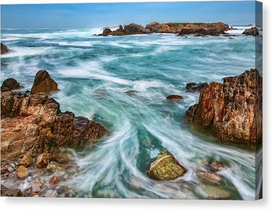 Canvas Print featuring the photograph Swept Away by Dan McGeorge
