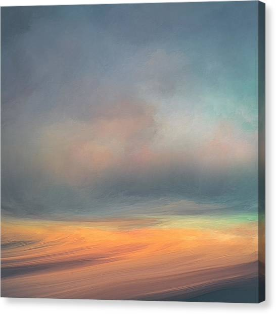 Cloud Canvas Print - Swept Away by Lonnie Christopher