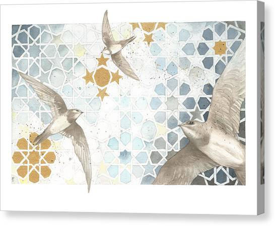 Swifts Of Cihangir Canvas Print