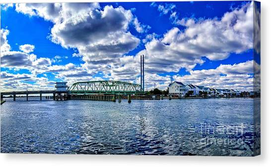 Swing Bridge Heaven Canvas Print
