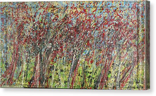 Swing Trees  Canvas Print