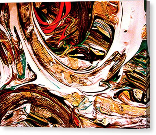 Swirl  2 Canvas Print by Teo Santa