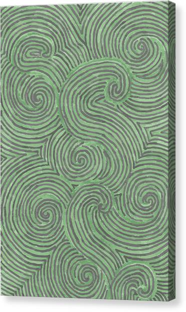 Swirl Power Canvas Print