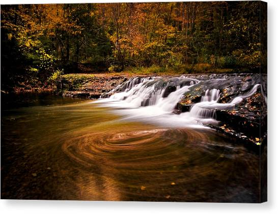 Swirlpool Canvas Print