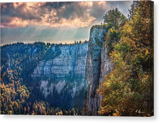 Swiss Grand Canyon Canvas Print