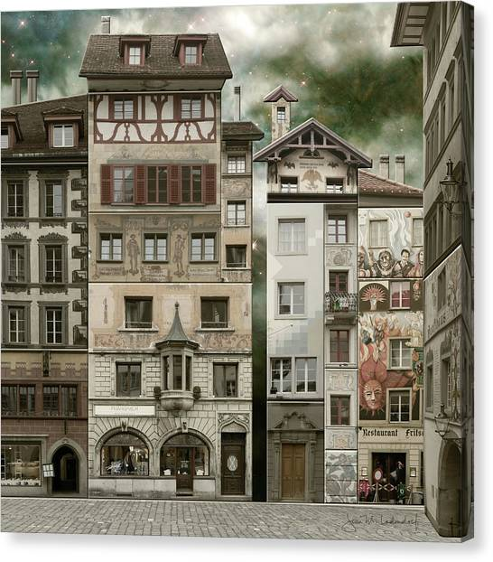 Swiss Reconstruction Canvas Print
