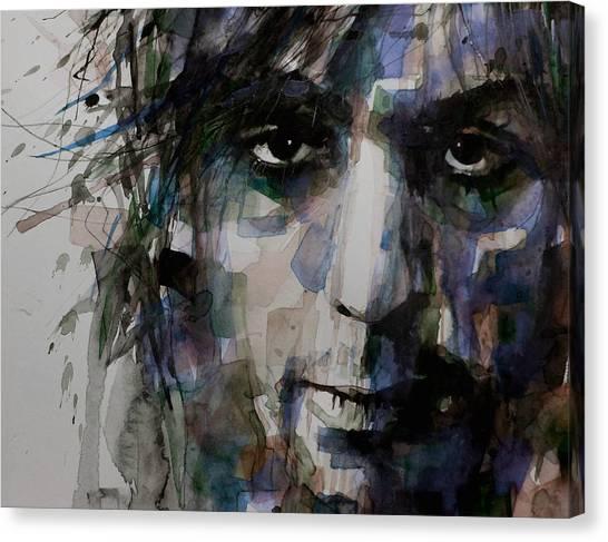 Pink Floyd Canvas Print - Syd Barrett by Paul Lovering