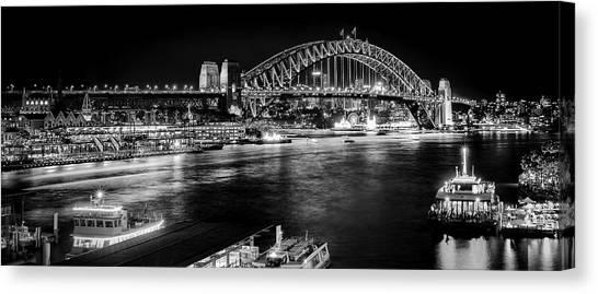 Sydney - Circular Quay Canvas Print