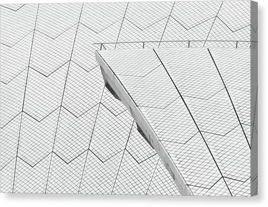 Sydney Opera House Roof No. 10-1 Canvas Print