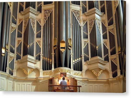 Sydney Town Hall Organ Canvas Print
