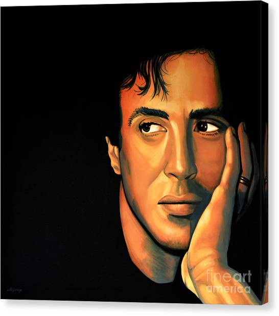 Sylvester Stallone Canvas Print - Sylvester Stallone by Paul Meijering