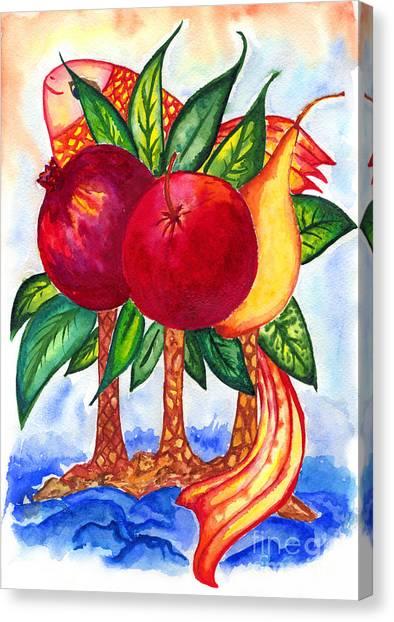 Symbolics Canvas Print