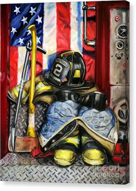 Tools Canvas Print - Symbols Of Heroism by Paul Walsh