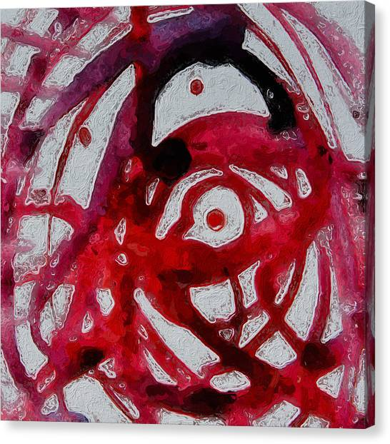 Canvas Print - Symphony In Red by Modern Art