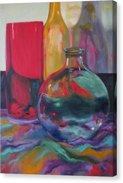 Symphony Of Vases Canvas Print