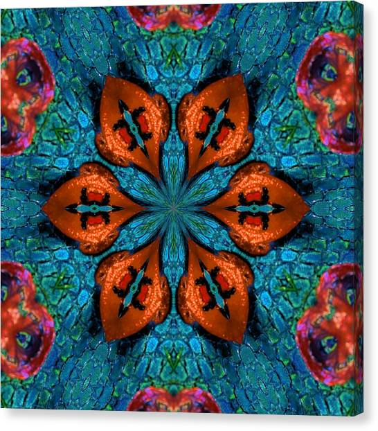 Synchronized Swimmers Canvas Print