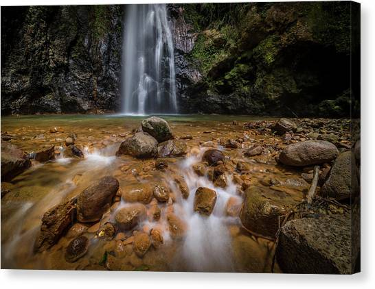 Syndicate Falls 2 Canvas Print