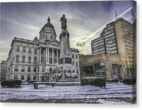 Syracuse University Canvas Print - Syracuse Courthouse by Everet Regal