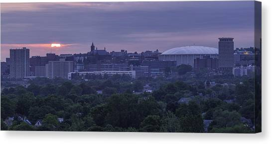Syracuse University Canvas Print - Syracuse Orange by Everet Regal