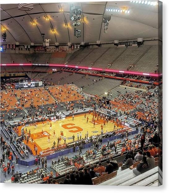 Syracuse University Canvas Print - #syracuse #orangemen #cuse #gocuse by Billy Trudsoe