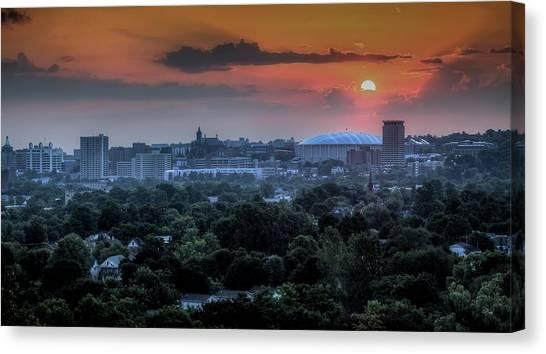 New York University Canvas Print - Syracuse Sunrise by Everet Regal