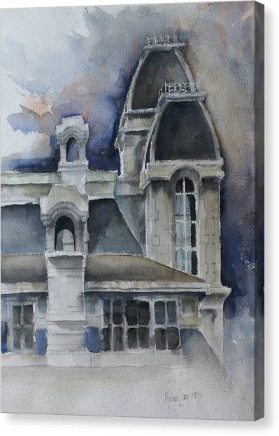 Syracuse University Canvas Print - Syracuse University by Michael Lang