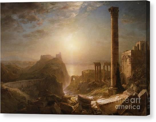 Syrian Canvas Print - Syria By The Sea by Frederic Edwin Church