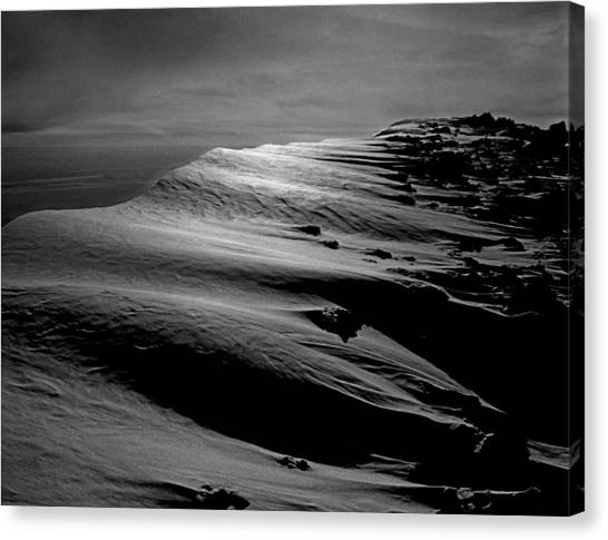 T-213312 Windblown Ice On Humphreys Peak Canvas Print