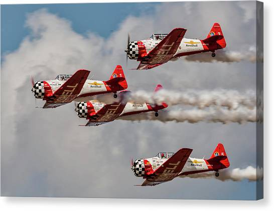 T-6 Texan Canvas Print
