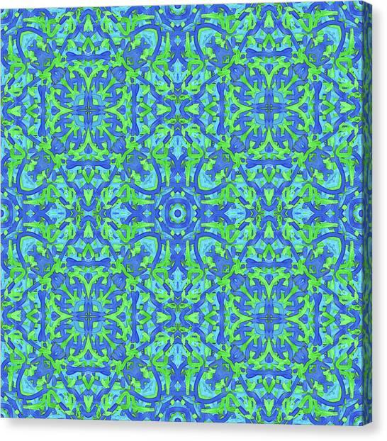 T U E - Multi Pattern Canvas Print
