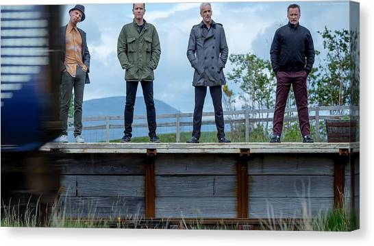 Trainspotting Canvas Print - T2 Trainspotting by Emma Brown