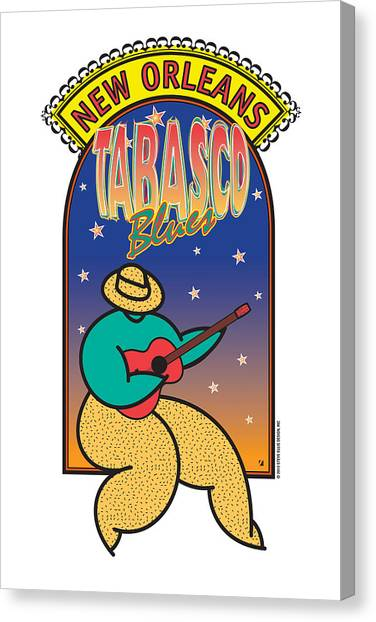 Tabasco Blues Canvas Print