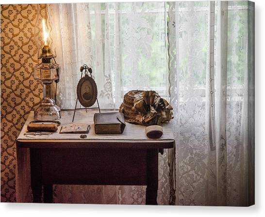 Canvas Print featuring the photograph Table, Anne Of Green Gables by Rob Huntley