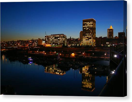 Tacoma Reflections Canvas Print