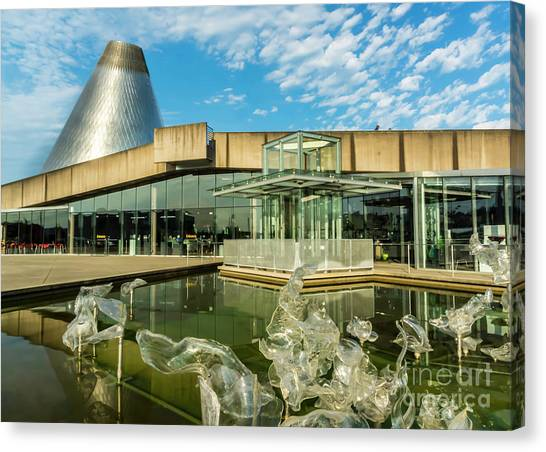 Tacoma's Museum Of Glass  Canvas Print