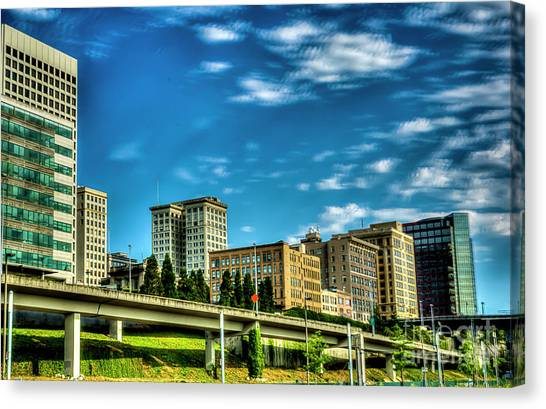 Tacoma,washington.hdr Canvas Print