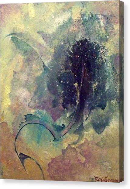 Tadpole Canvas Print by Fred Wellner