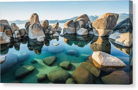 Tahoe Reflections Canvas Print