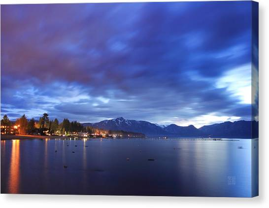 Tahoe Twilight Canvas Print