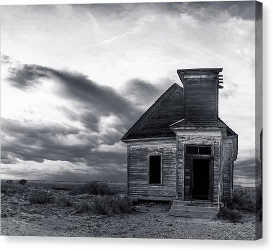 Taiban Presbyterian Church, New Mexico #3 Canvas Print