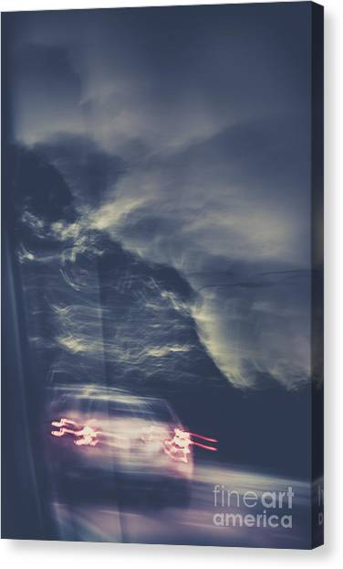 Abduction Canvas Print - Tailing Car Trails by Jorgo Photography - Wall Art Gallery