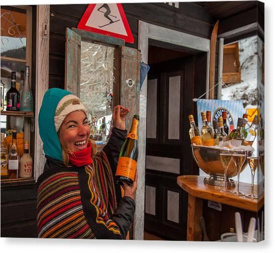 Taimi In Zermatt Switzerland Canvas Print