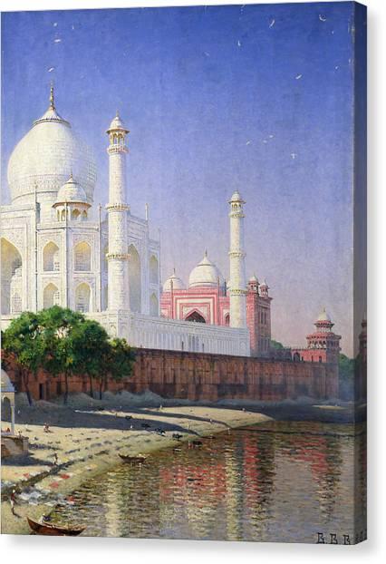 Wonders Of The World Canvas Print - Taj Mahal by Vasili Vasilievich Vereshchagin