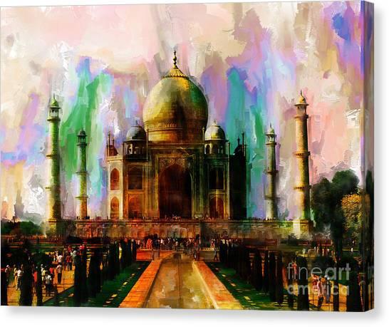 Taj Mehal 009 Canvas Print
