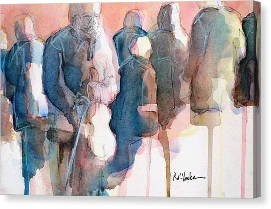 Bluegrass Canvas Print - Take A Break by Robert Yonke