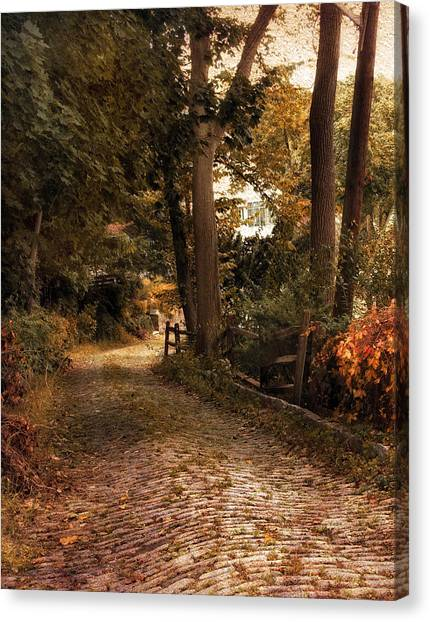 Country Roads Canvas Print - Take Me Home by Jessica Jenney