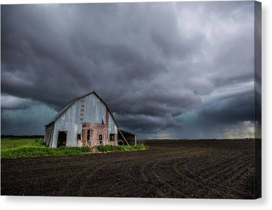 Tornadoes Canvas Print - Take Shelter 2016 by Aaron J Groen