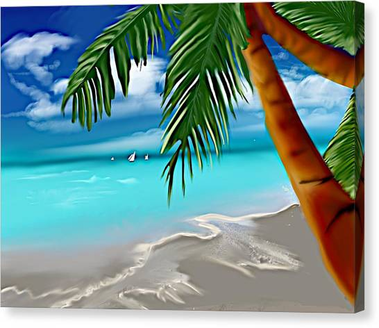 Takemeaway Beach Canvas Print