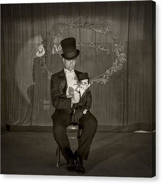 Los Angeles Canvas Print - Taken Onstage At The #haunted by Sad Hill - Bizarre Los Angeles Archive